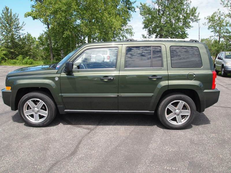 2008 jeep patriot limited 4x4 4dr suv in duluth mn. Black Bedroom Furniture Sets. Home Design Ideas
