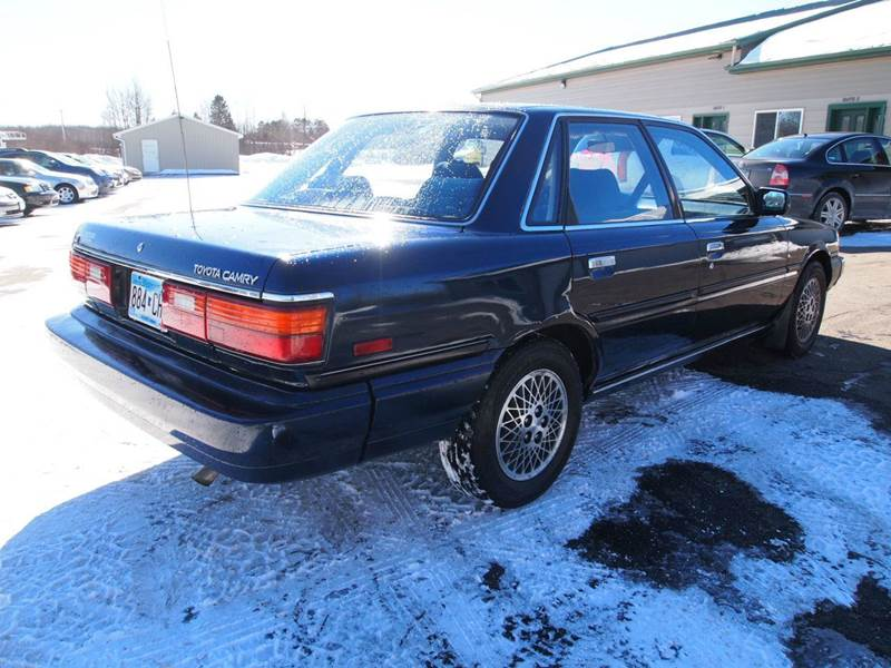1988 Toyota Camry Le Le 4dr Sedan In Duluth Mn Anderson