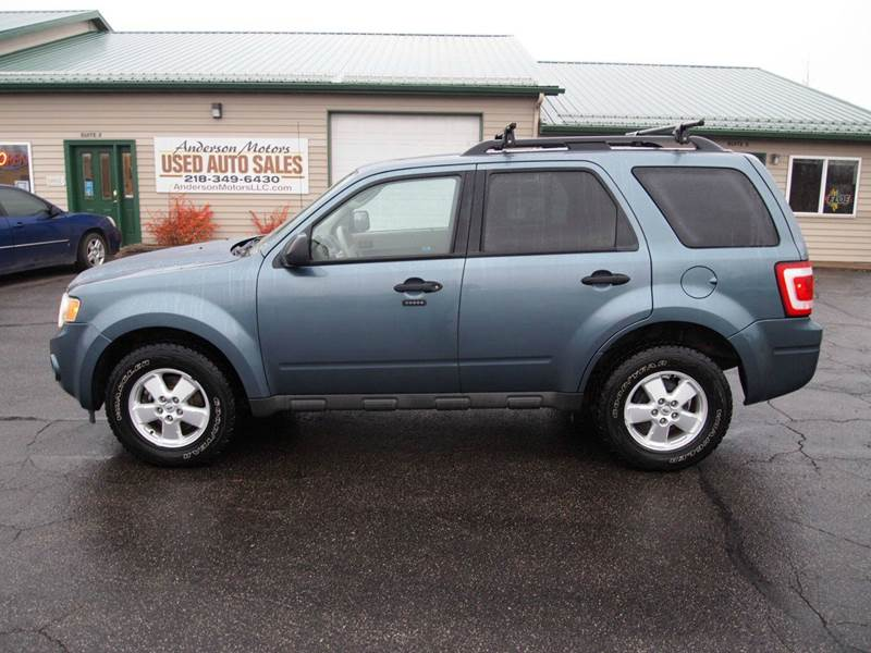 2010 Ford Escape Xlt Awd 4dr Suv In Duluth Mn Anderson Motors