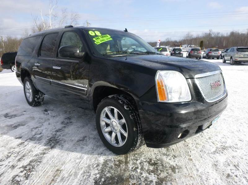 2008 gmc yukon xl denali awd 4dr suv in duluth mn anderson motors. Black Bedroom Furniture Sets. Home Design Ideas
