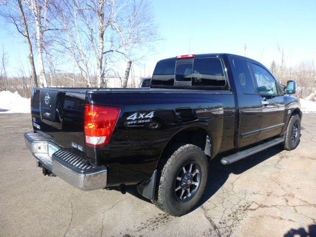 2004 nissan titan 4dr king cab le 4wd sb in duluth mn Anderson motors llc