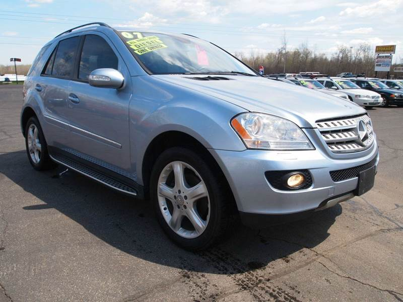 2007 mercedes benz m class ml320 cdi awd 4matic one Anderson motors llc