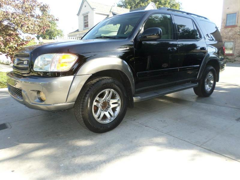 2003 TOYOTA SEQUOIA SR5 4DR SUV black abs - 4-wheel antenna type - power anti-theft system - al