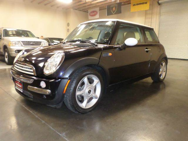 2002 MINI COOPER BASE 2DR HATCHBACK blue abs - 4-wheel anti-theft system - alarm clock exterio