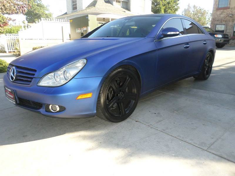 2006 MERCEDES-BENZ CLS-CLASS CLS500 4DR SEDAN blue abs - 4-wheel active suspension air filtrati