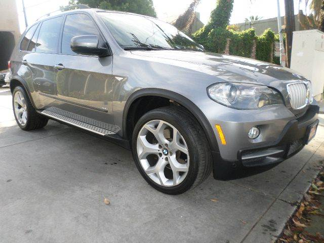 2008 BMW X5 48I AWD SUV black power dual sun roof navigation system cold weather pkg amfm cd