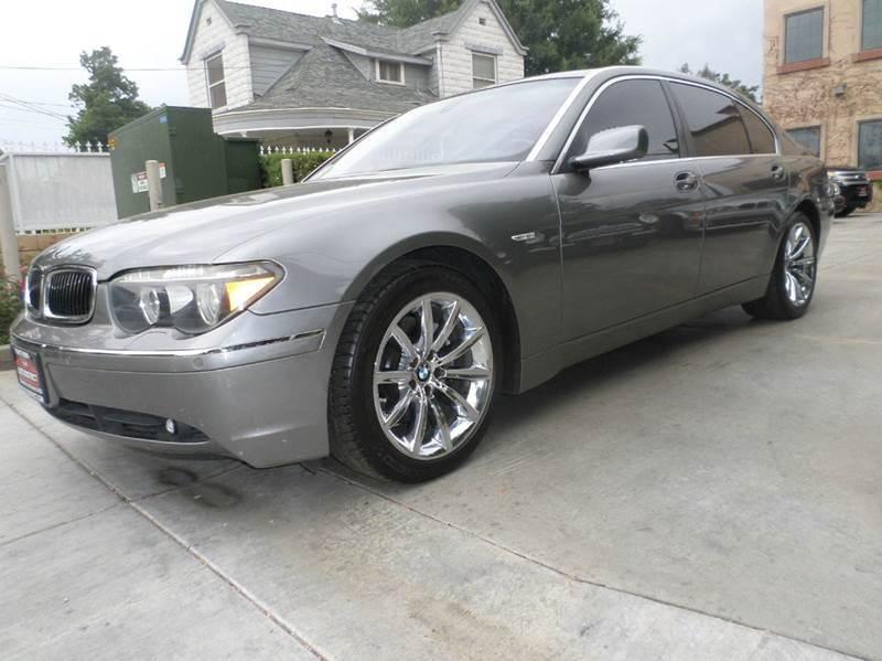 2005 BMW 7 SERIES 745LI 4DR SEDAN gray automaticdual air conditioningpower lockspower windows