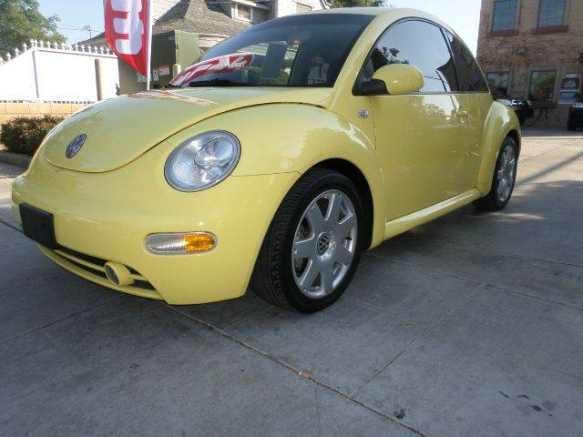 2001 VOLKSWAGEN NEW BEETLE GLS 18T 2DR HATCHBACK yellow abs - 4-wheel anti-theft system - alarm