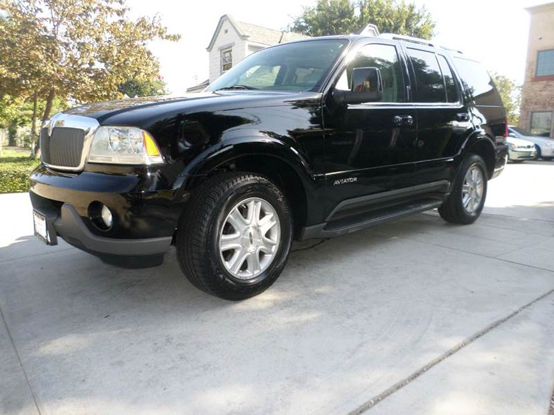 2004 LINCOLN AVIATOR LUXURY 4DR SUV black power sun roof power locks power windows power seats