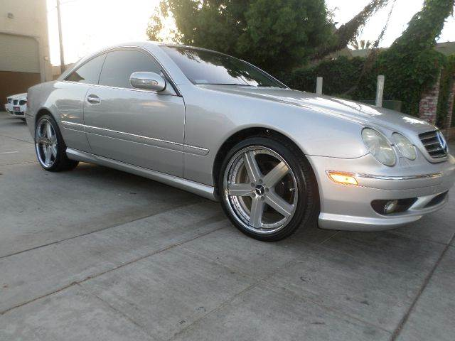 2002 MERCEDES-BENZ CL-CLASS CL500 2DR COUPE silver power sun roof power locks power windows po