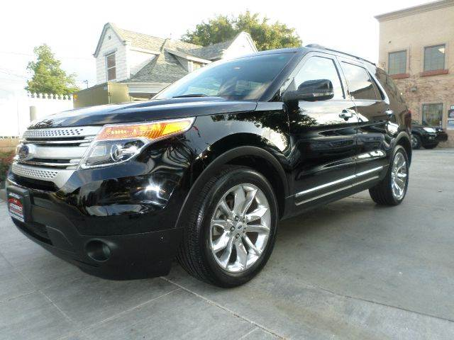 2012 FORD EXPLORER XLT 4DR SUV black power locks power windows power seats power trunk abs n