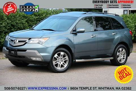 2007 Acura MDX for sale in Whitman, MA