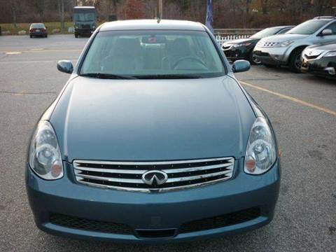 2006 Infiniti G35 for sale in Manchester, NH