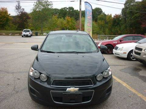 2013 Chevrolet Sonic for sale in Manchester, NH
