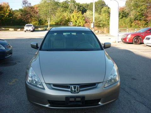 2004 Honda Accord for sale in Manchester, NH