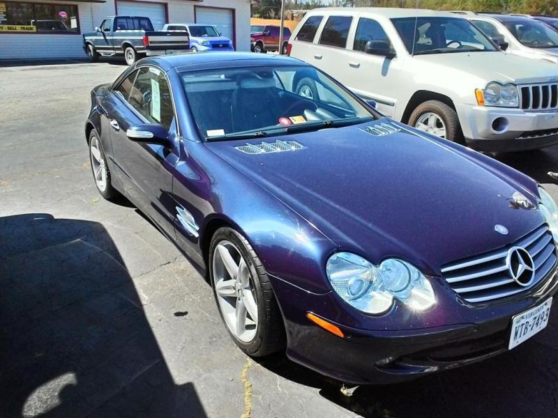 2005 Mercedes-Benz SL-Class SL500 2dr Convertible - Clarksville VA