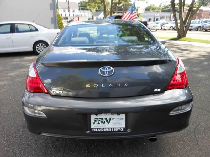2008 Toyota Camry Solara SE 2dr Coupe 5A - Highland Park NJ