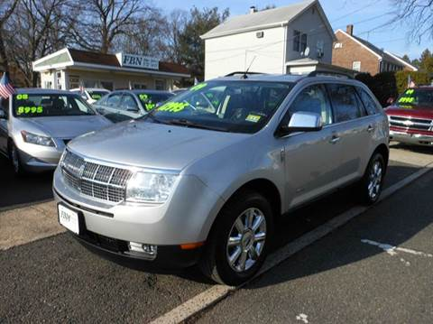 2009 lincoln mkx for sale new jersey. Black Bedroom Furniture Sets. Home Design Ideas