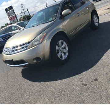 2007 Nissan Murano for sale in Easton, PA