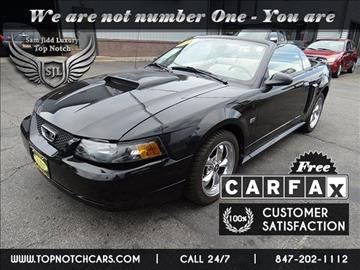 2002 Ford Mustang for sale in Palatine, IL