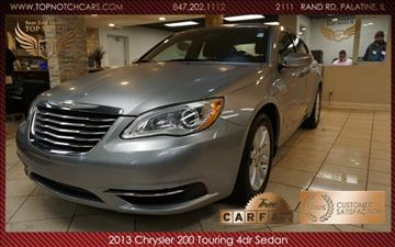 2013 Chrysler 200 for sale in Palatine, IL