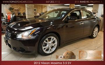 2012 Nissan Maxima for sale in Palatine, IL