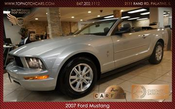 2007 Ford Mustang for sale in Palatine, IL