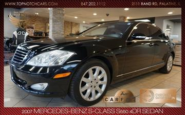 2007 Mercedes-Benz S-Class for sale in Palatine, IL