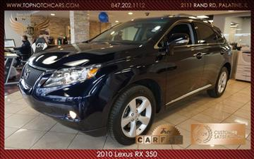 2010 Lexus RX 350 for sale in Palatine, IL