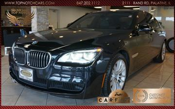 2013 BMW 7 Series for sale in Palatine, IL