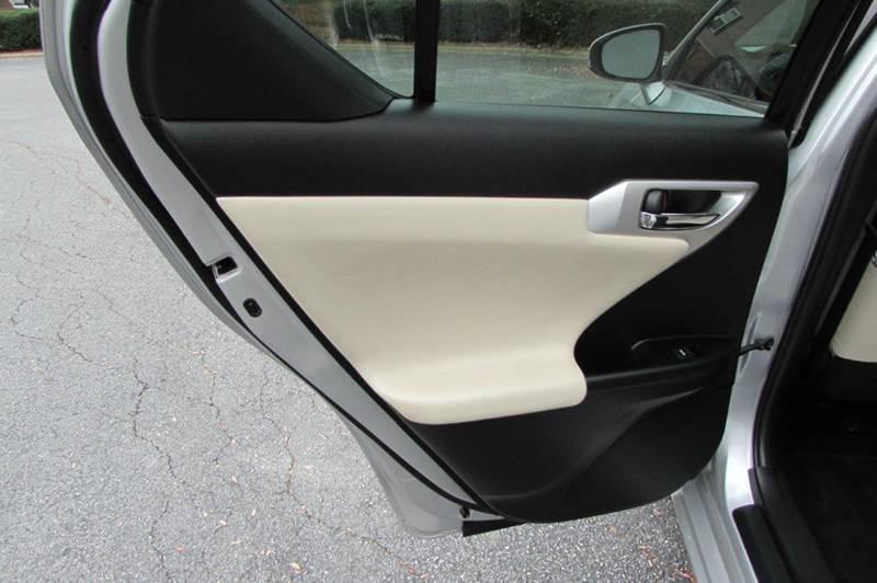 2012 Lexus CT 200h Base 4dr Hatchback - Greensboro NC
