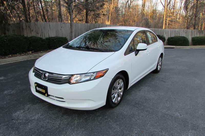 2012 Honda Civic LX 4dr Sedan 5A - Greensboro NC