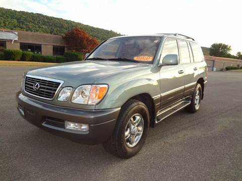 2002 Lexus Lx 470 For Sale