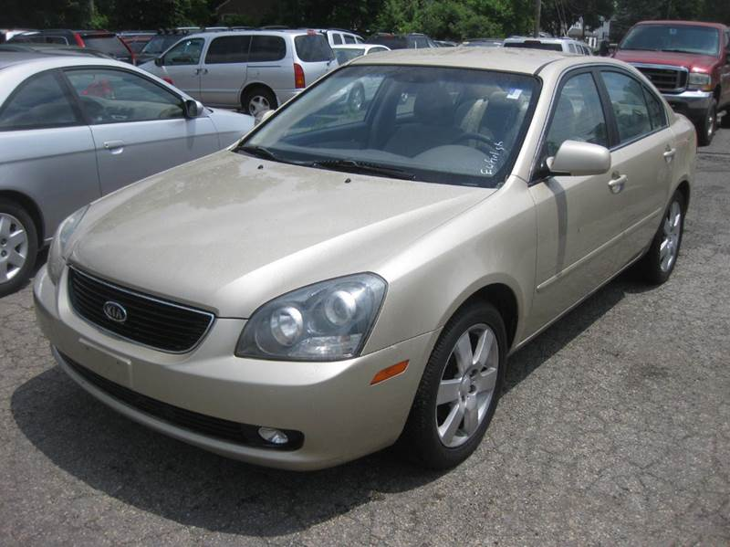 2008 Kia Optima LX 4dr Sedan (2.4L I4 5A)   Enfield CT