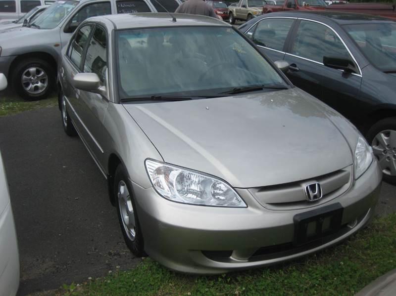 2005 Honda Civic Hybrid 4dr Sedan   Enfield CT