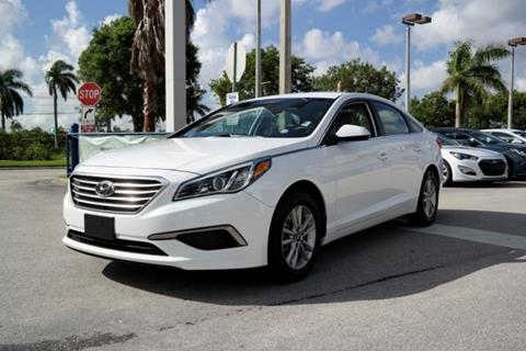 2017 Hyundai Sonata for sale in Doral, FL