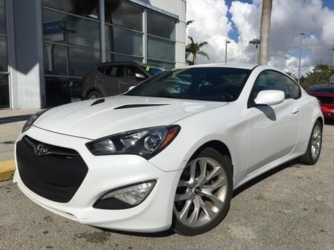2014 Hyundai Genesis Coupe for sale in Doral, FL