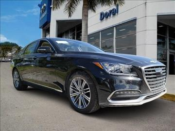 2018 Genesis G80 for sale in Doral, FL
