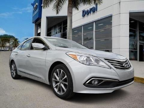 2016 Hyundai Azera for sale in Doral, FL