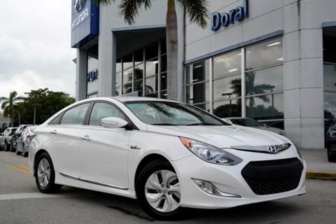 2015 Hyundai Sonata Hybrid for sale in Doral, FL