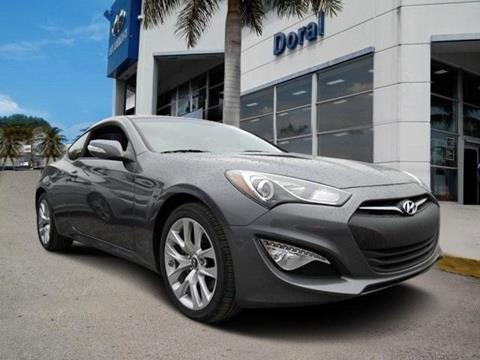 2016 Hyundai Genesis Coupe For Sale In Doral, FL