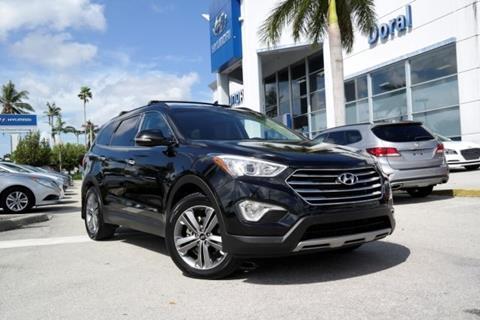 2014 Hyundai Santa Fe for sale in Doral, FL