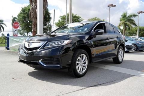 2017 Acura RDX for sale in Doral, FL