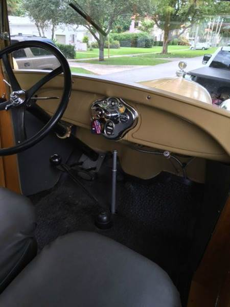 1929 Ford Model A Depot Hack  - Saint Simons Island GA