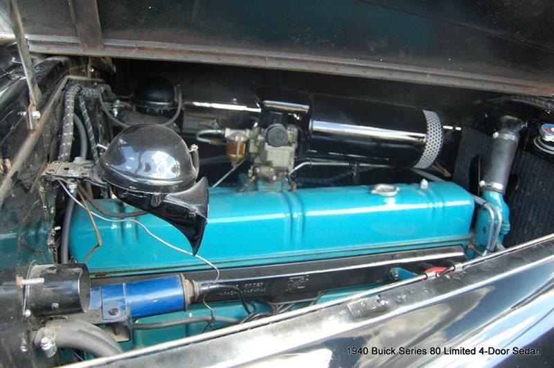 1940 Buick Limited Series 80 Formal Sedan  - Saint Simons Island GA