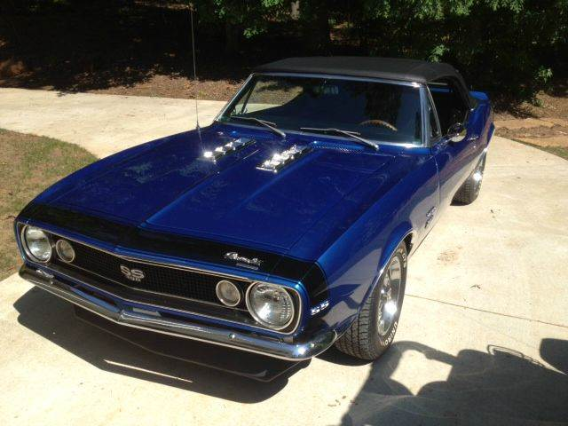 Used 1967 Chevrolet Camaro SS 396 Convertible for sale