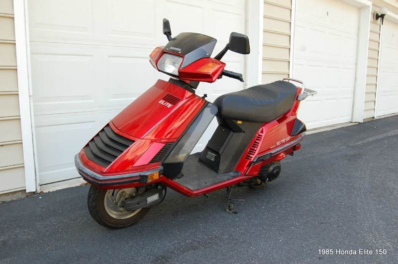 1985 Honda Elite 150cc Motorscooter