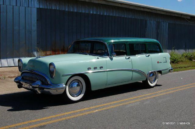 1954 Buick Century Station Wagon