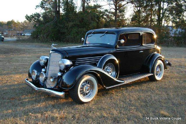 1934 Buick Series 50 Victoria Coupe