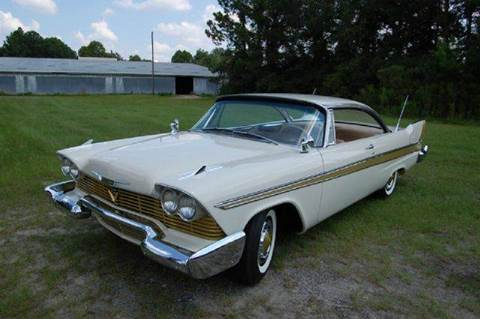 1958 Plymouth Sport Fury for sale in Saint Simons Island, GA